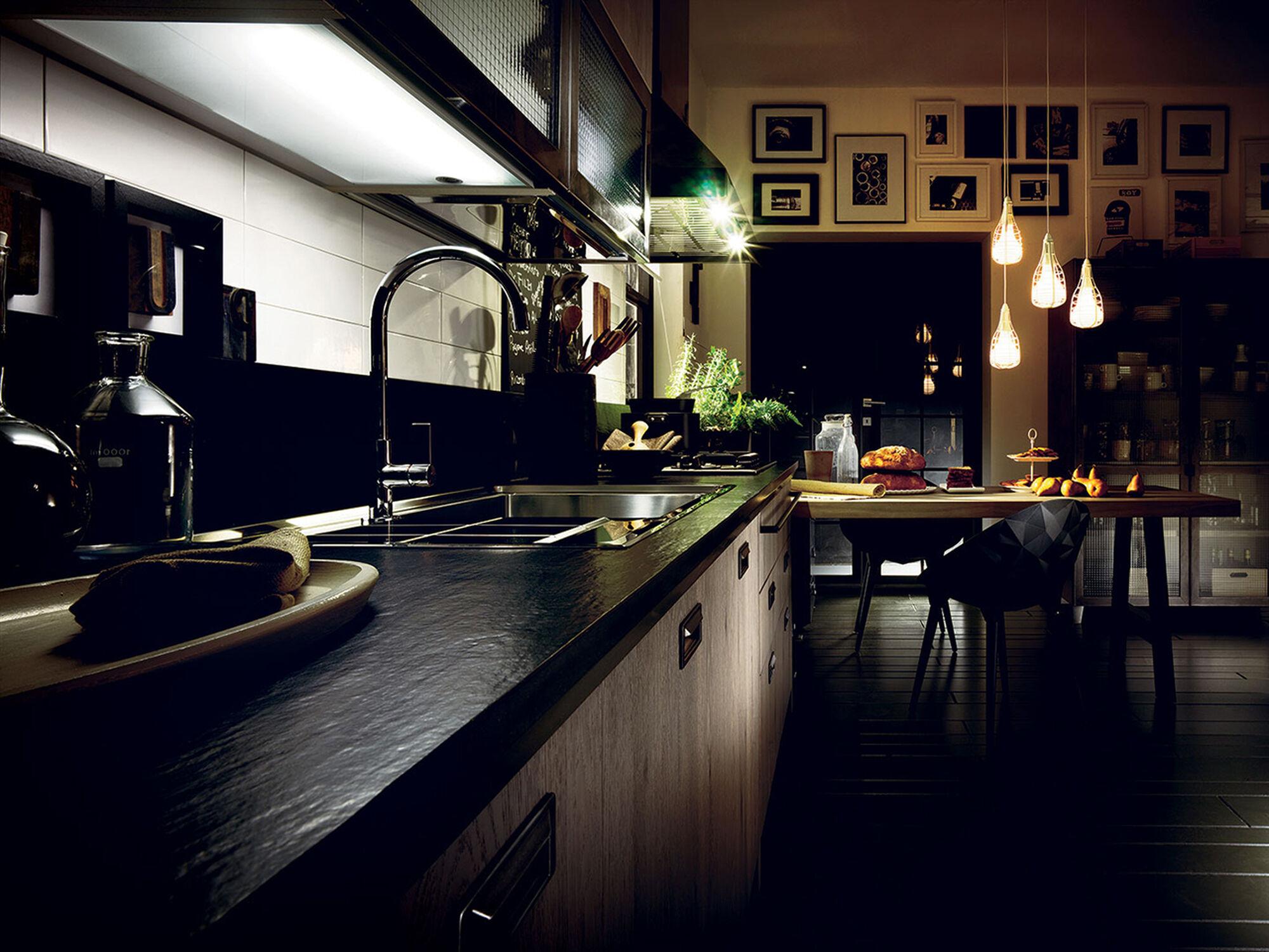 lineare k chen diesel online store. Black Bedroom Furniture Sets. Home Design Ideas