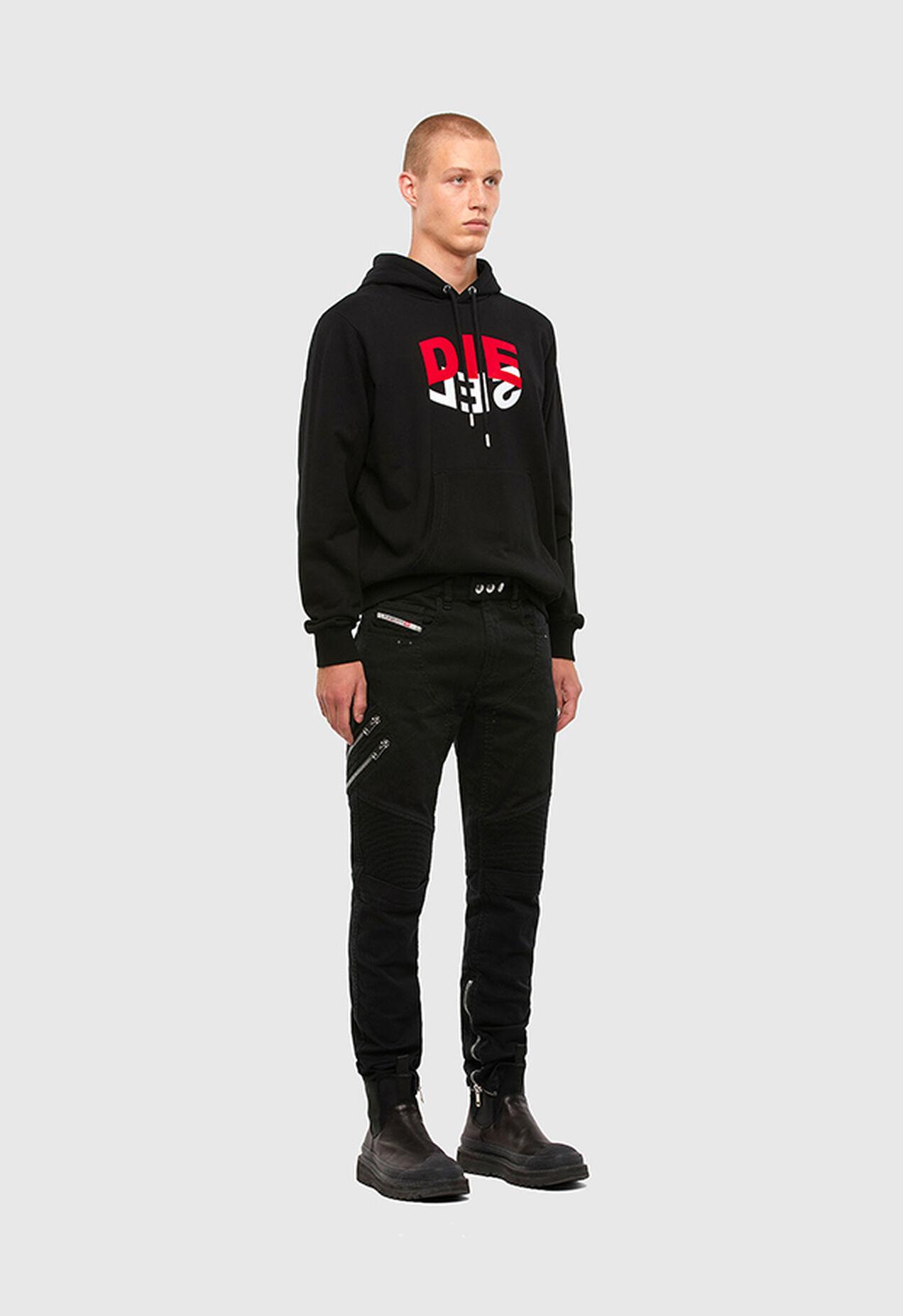 S-GIRK-HOOD-N1, Schwarz - Sweatshirts