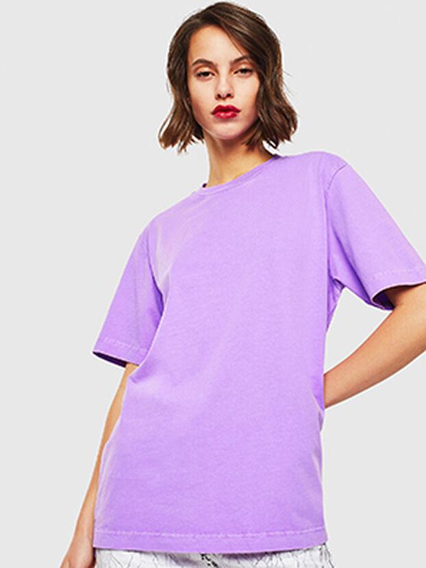 T-JUST-SLITS-FLUO, Neongelb - T-Shirts
