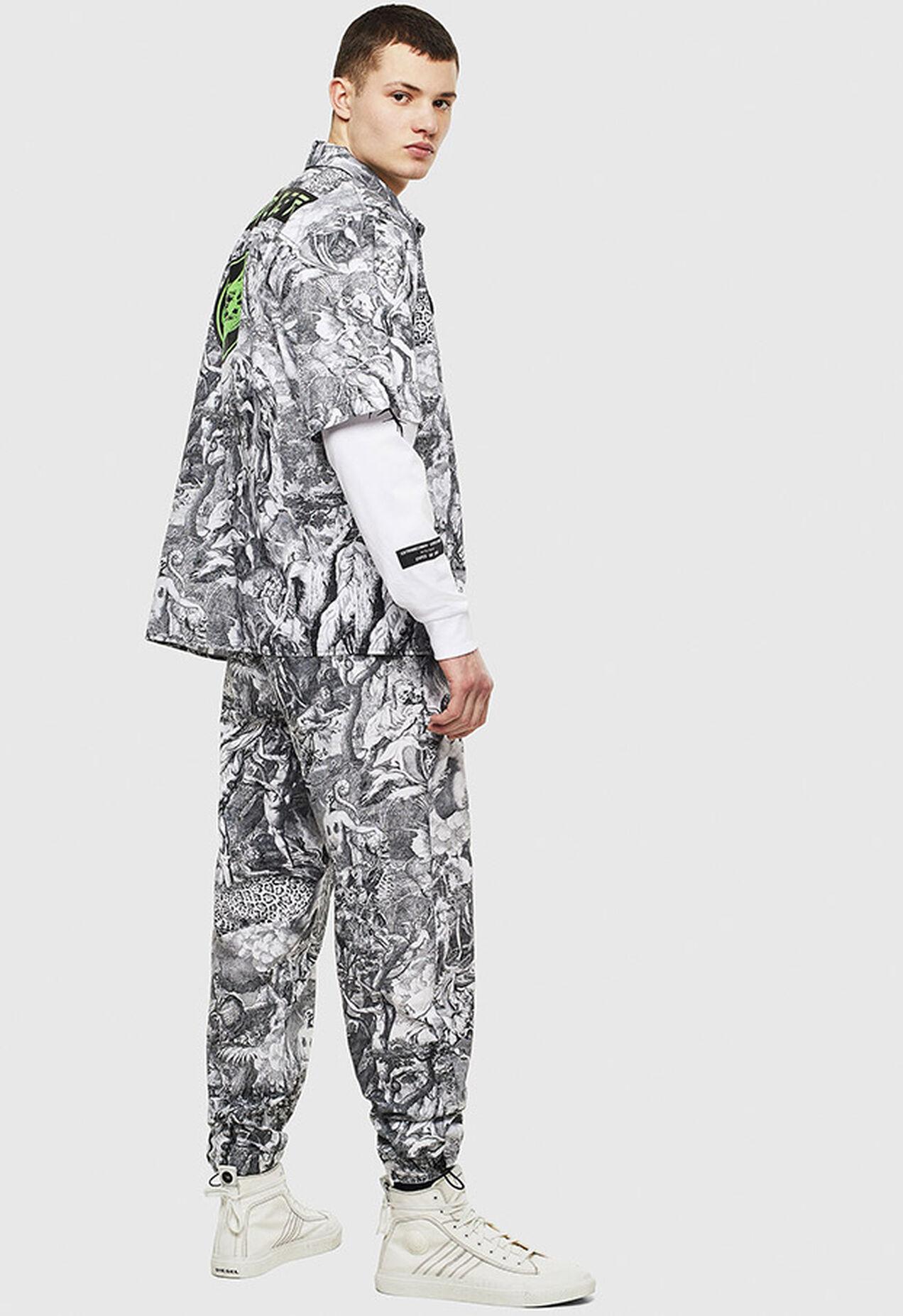 S-WED-KAOS, Schwarz/Weiß - Hemden