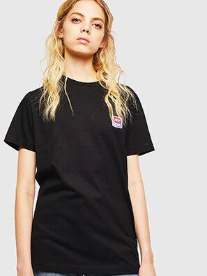 T-DIEGO-DIV, Schwarz - T-Shirts