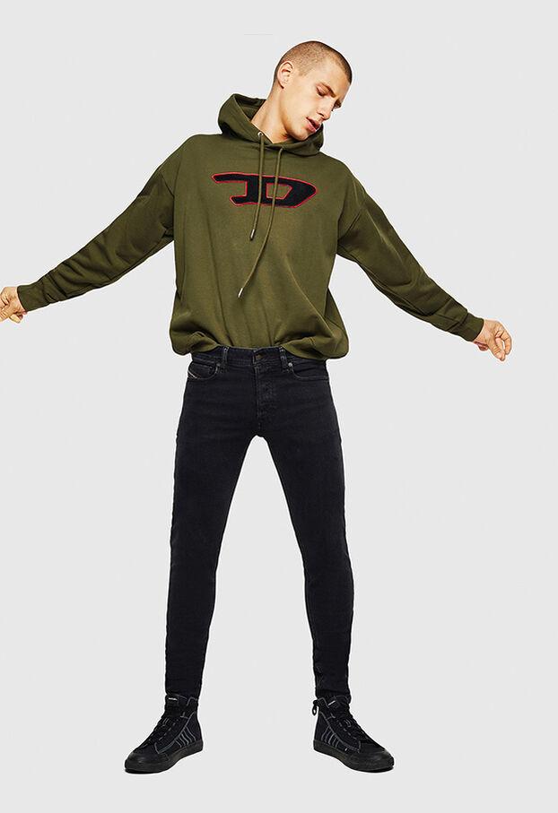 S-DIVISION-D, Schwarz - Sweatshirts