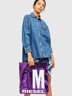 F-LITT-HER M, Violett - Shopper und Schultertaschen