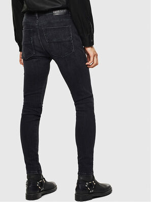D-Amny 0096P, Schwarz/Dunkelgrau - Jeans