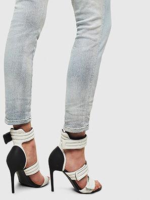 Babhila High 009AX, Hellblau - Jeans