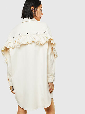 D-BABOL JOGGJEANS, Weiß - Kleider