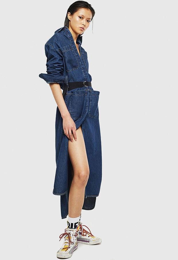 DE-TOKYO, Mittelblau - Kleider