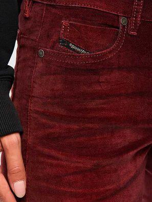 D-Jevel 069PS, Bordeauxrot - Jeans