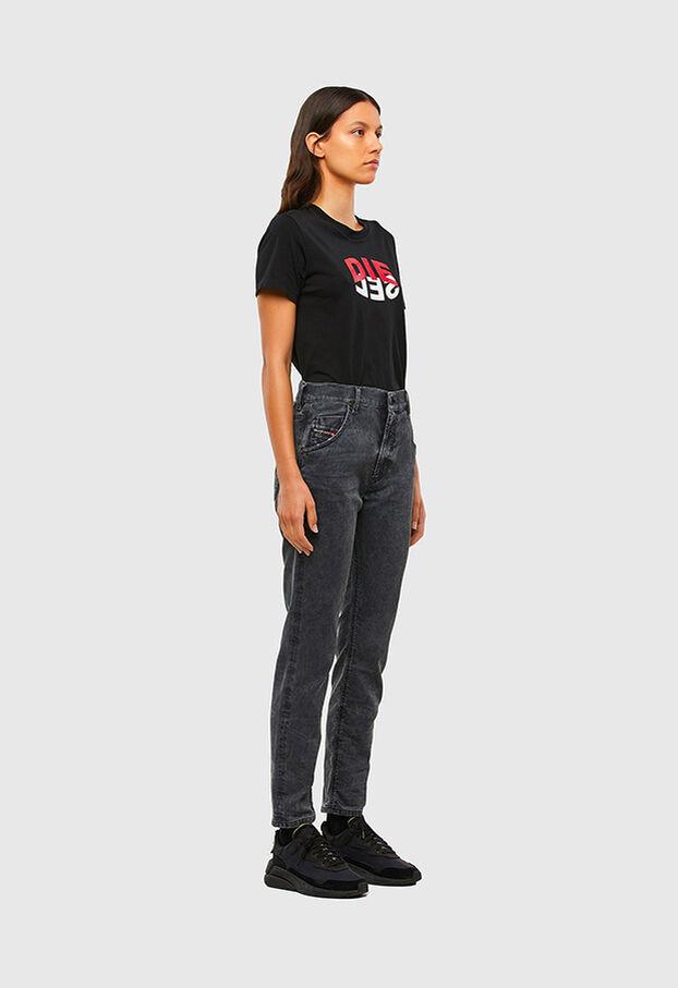 KRAILEY JoggJeans® 069QB, Schwarz/Dunkelgrau - Jeans