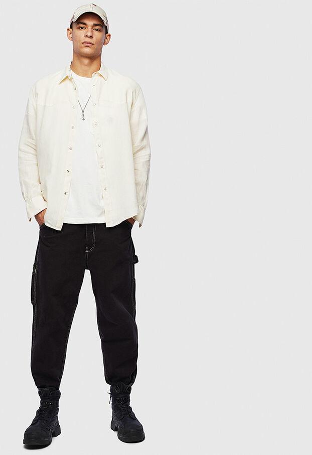 S-PLAN-B, Weiß - Hemden