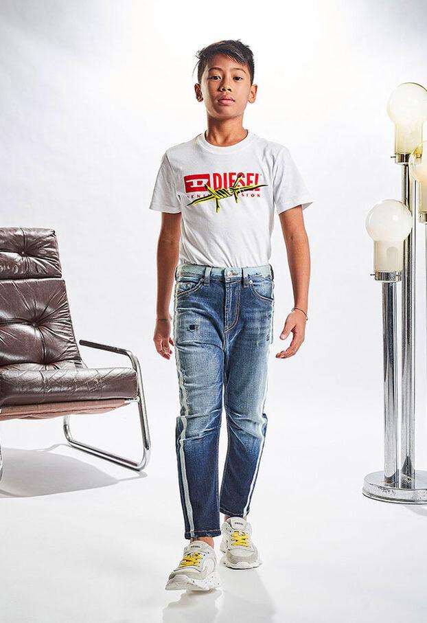 NARROT-R-J-N, Mittelblau - Jeans