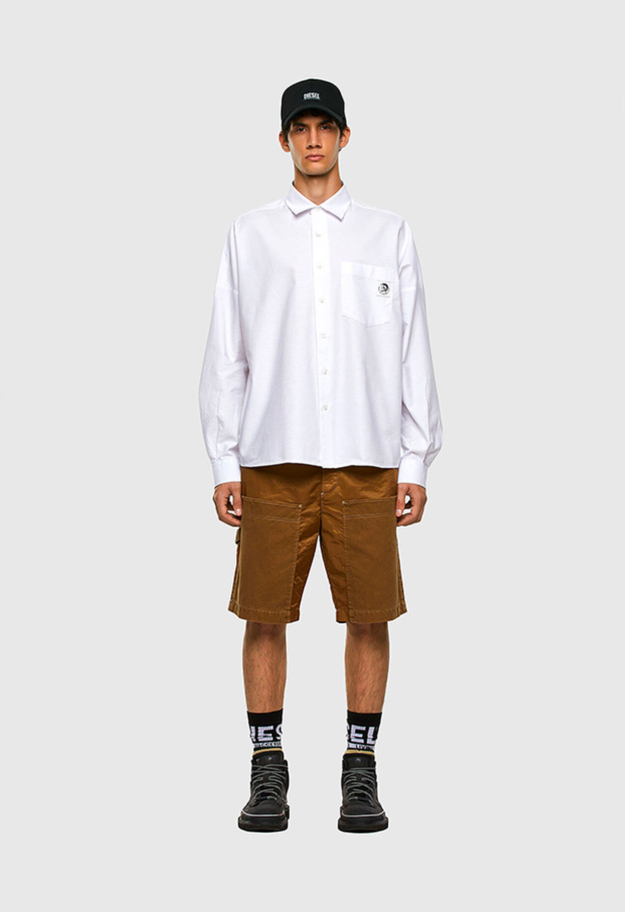 S-LOOMY-A, Weiß - Hemden