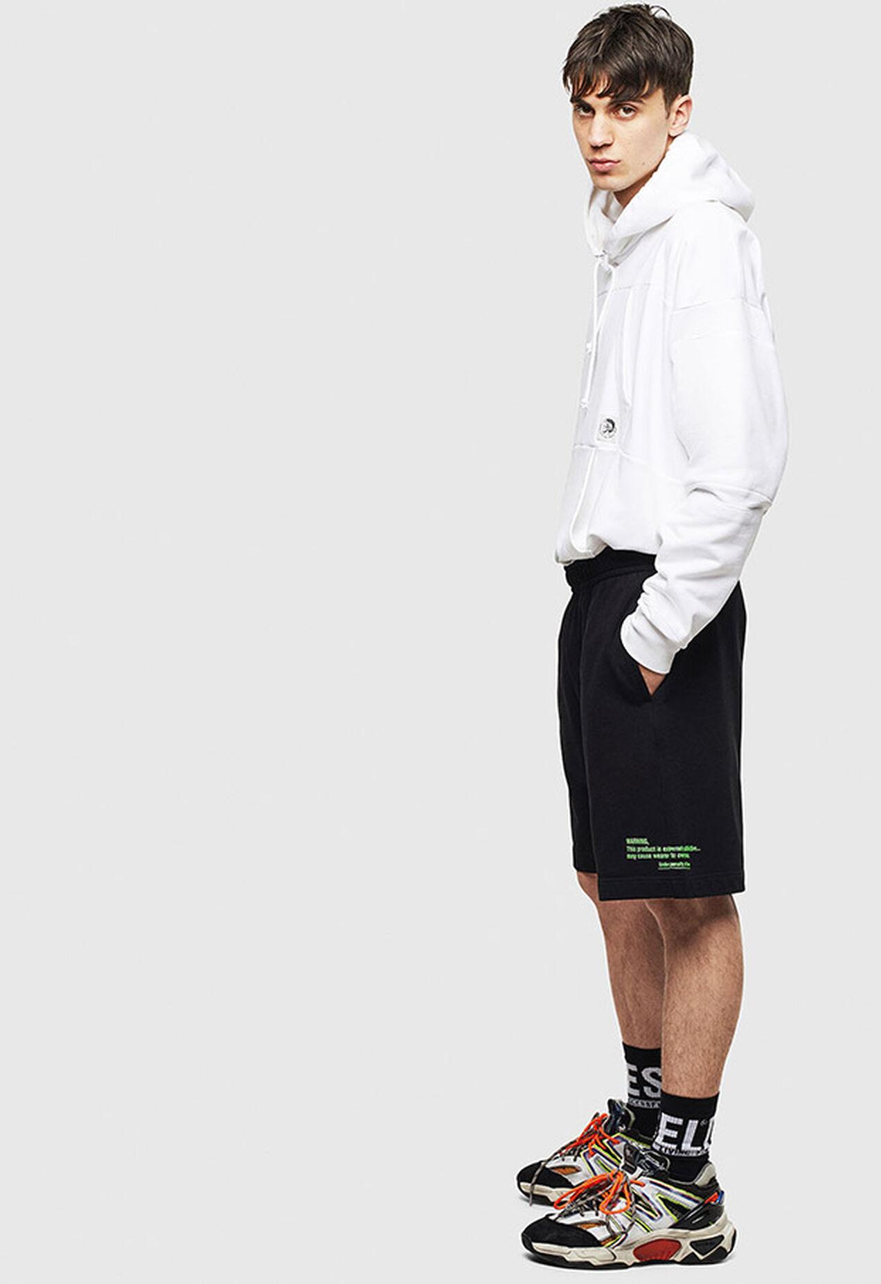P-BOXIER, Schwarz - Kurze Hosen
