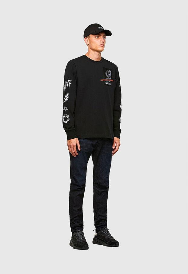 D-Strukt 009MP, Dunkelblau - Jeans
