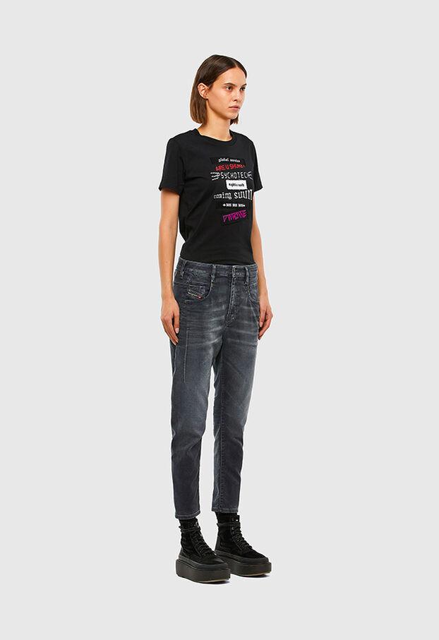 FAYZA JoggJeans® 069QA, Schwarz/Dunkelgrau - Jeans