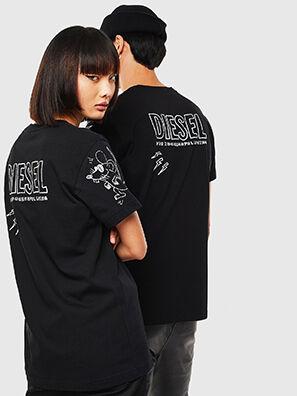 CL-T-DIEGO-3, Schwarz - T-Shirts