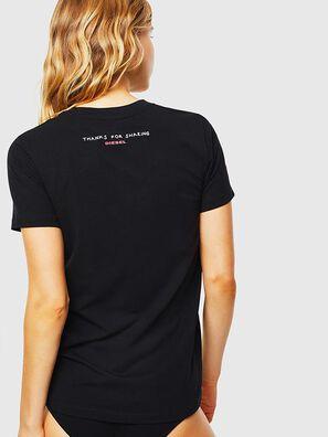 UFTEE-SILY-INT, Schwarz - T-Shirts