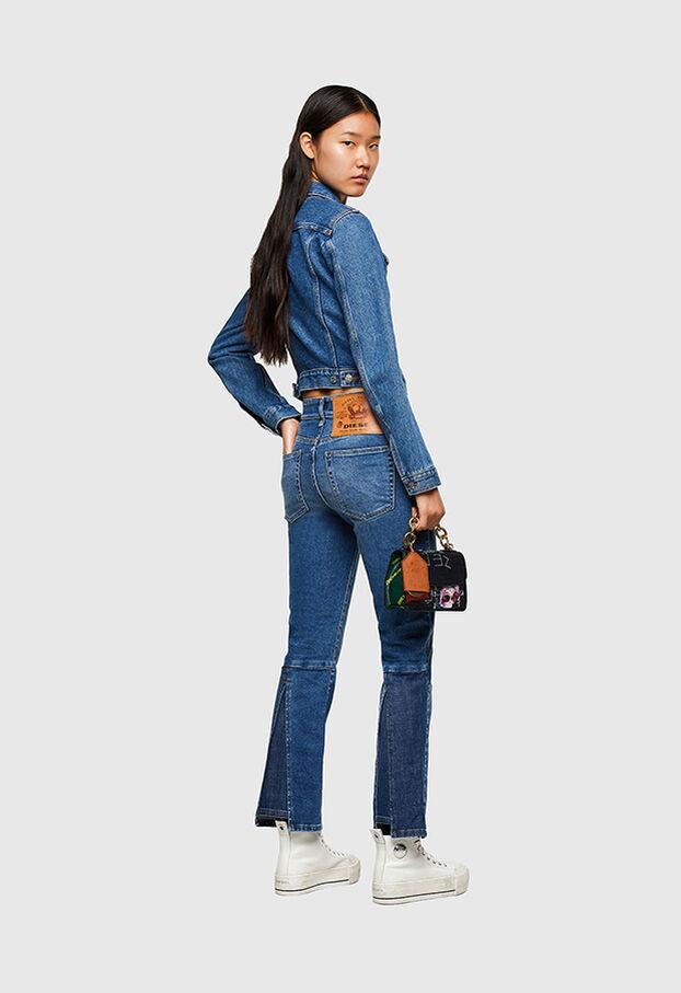 D-Earlie 009NP, Mittelblau - Jeans