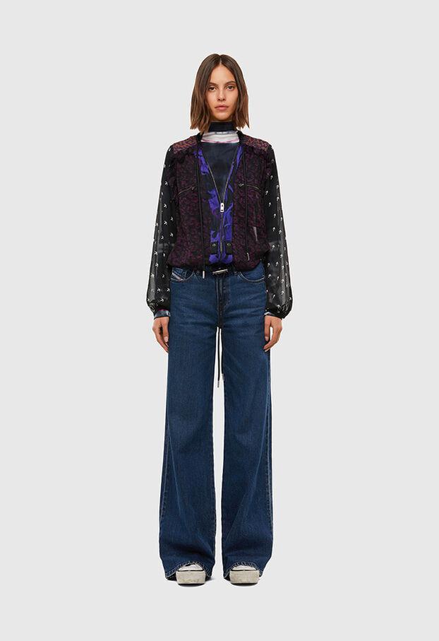 D-Akemi 009KE, Mittelblau - Jeans
