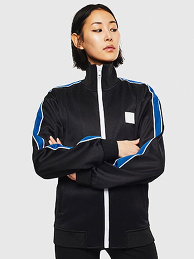 S-CORTESS, Schwarz/Blau - Sweatshirts