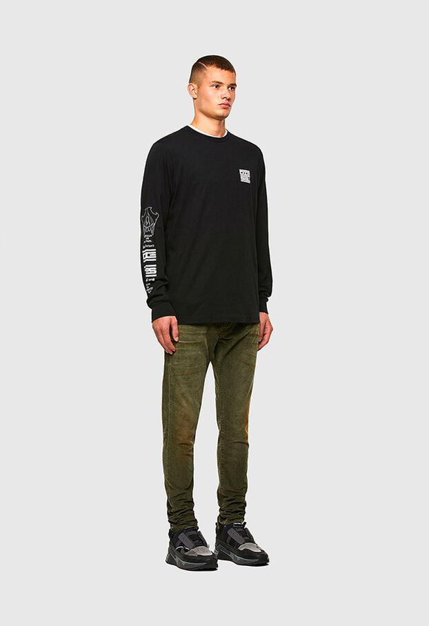 D-Strukt 069PT, Armeegrün - Jeans