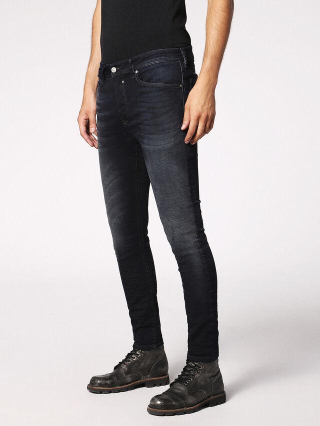 Diesel - Spender JoggJeans 0686F, Dunkelblau - Jeans - Image 5