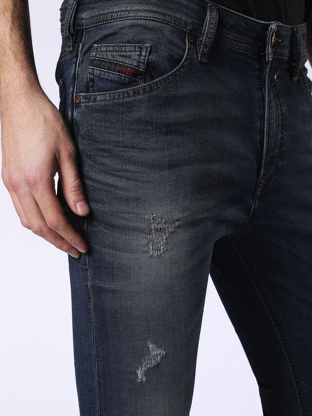 Diesel - Spender JoggJeans 0678L, Dunkelblau - Jeans - Image 3
