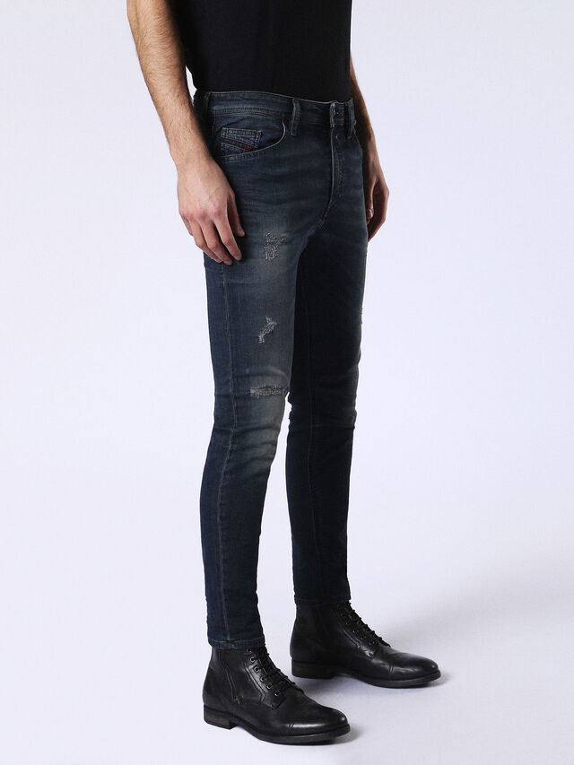 Diesel - Spender JoggJeans 0678L, Dunkelblau - Jeans - Image 5