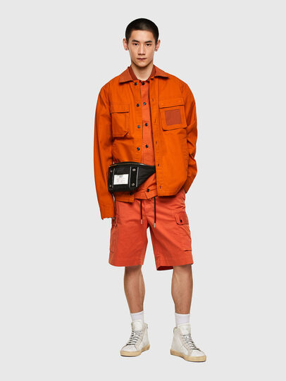 Diesel - S-GUNN-LS, Orange - Hemden - Image 5