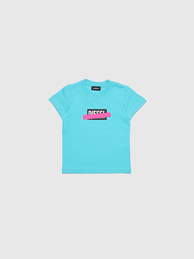 TJUSTDIXB-R, Azurblau - T-Shirts und Tops