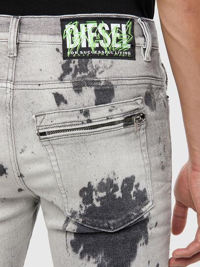 Diesel - D-Amny 009GM, Hellgrau - Jeans - Image 4