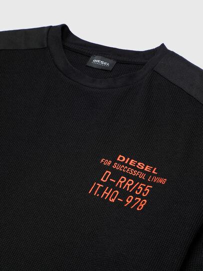 Diesel - UMLT-WILLY-W, Schwarz - Sweatshirts - Image 3