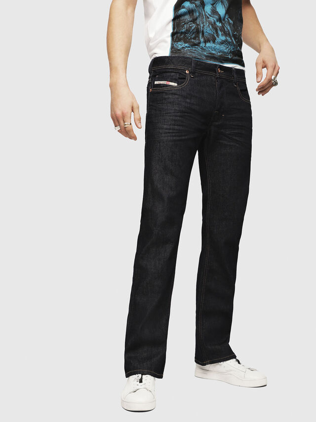 Diesel Zatiny 084HN, Dunkelblau - Jeans - Image 1