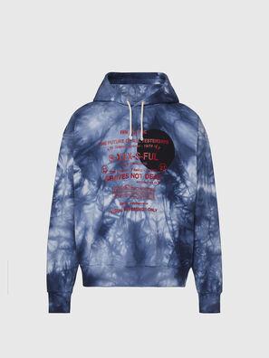S-MOONY, Blau/Weiss - Sweatshirts