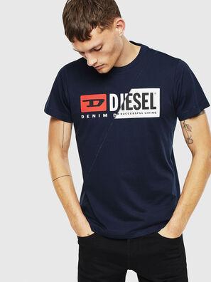T-DIEGO-CUTY, Dunkelblau - T-Shirts