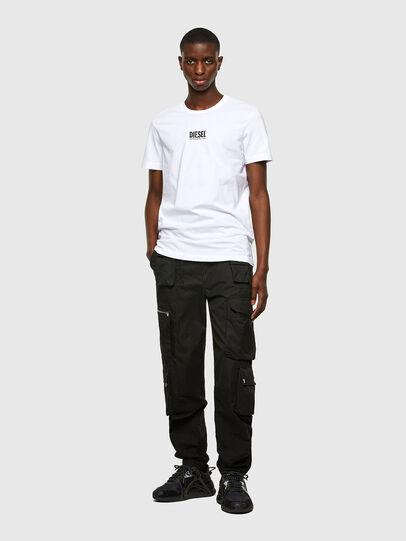 Diesel - T-DIEGOS-SMALLOGO, Weiß - T-Shirts - Image 4