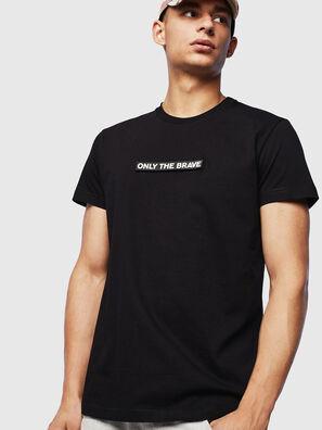 T-DIEGO-T16, Schwarz - T-Shirts