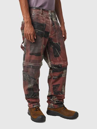 Diesel - D-Multy JoggJeans® 0CEAM, Rosa/Schwarz - Jeans - Image 5