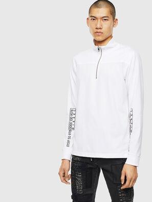 T-DIEGO-LS-DOLCE, Weiß - T-Shirts