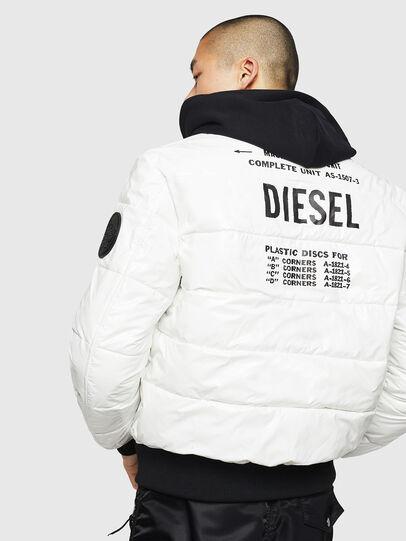 Diesel - W-ON, Weiß - Winterjacken - Image 2