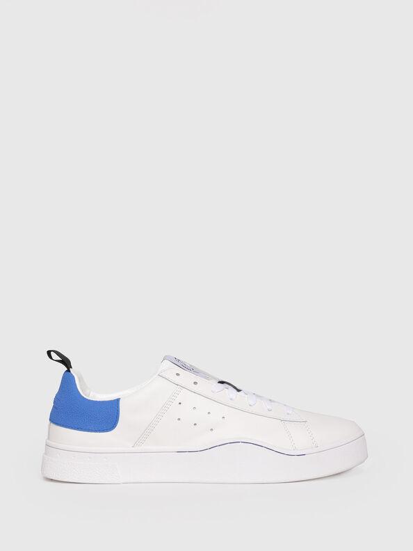 S-CLEVER LOW, Weiß/Blau - Sneakers