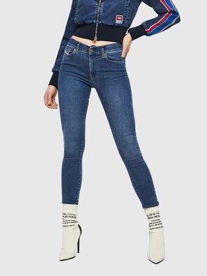 D-Roisin 085AB, Mittelblau - Jeans