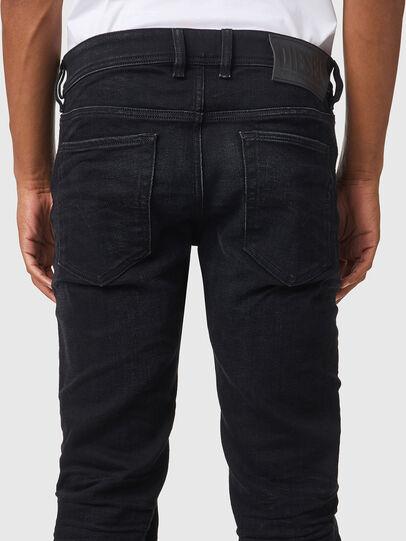Diesel - Sleenker 09A75, Schwarz/Dunkelgrau - Jeans - Image 4