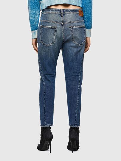 Diesel - Fayza 09A08, Mittelblau - Jeans - Image 2