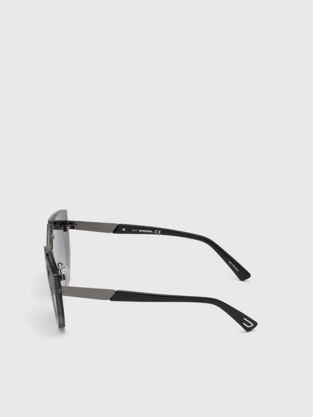 Diesel - DL0258, Grau - Sonnenbrille - Image 2