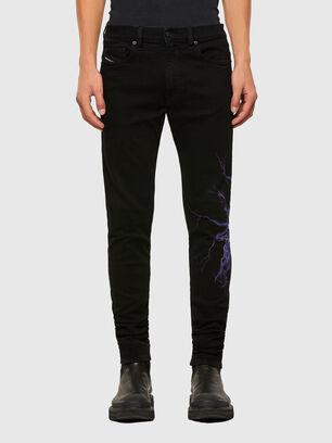 D-Amny 009KR, Schwarz/Dunkelgrau - Jeans