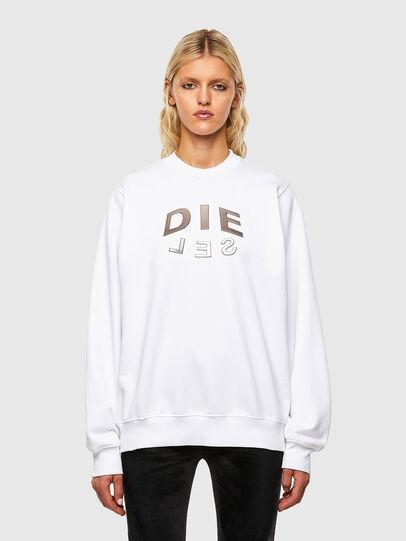 Diesel - F-ANG-R20, Weiß - Sweatshirts - Image 1