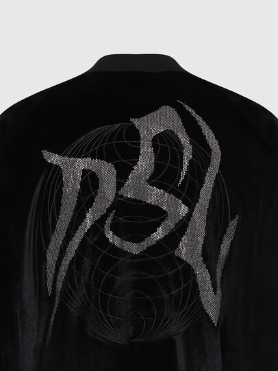 Diesel - F-CHINIL, Schwarz - Sweatshirts - Image 5