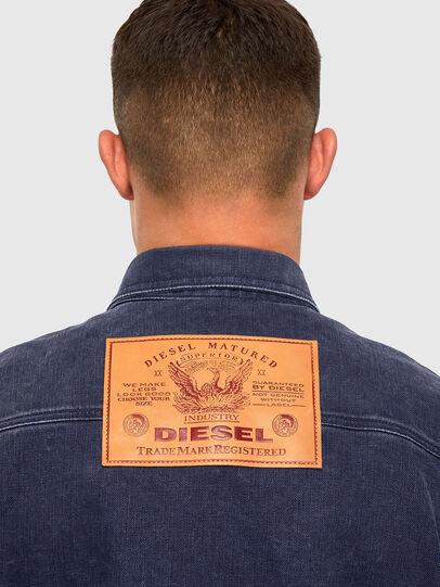 Diesel - D-VERSO, Dunkelblau - Denimhemden - Image 4