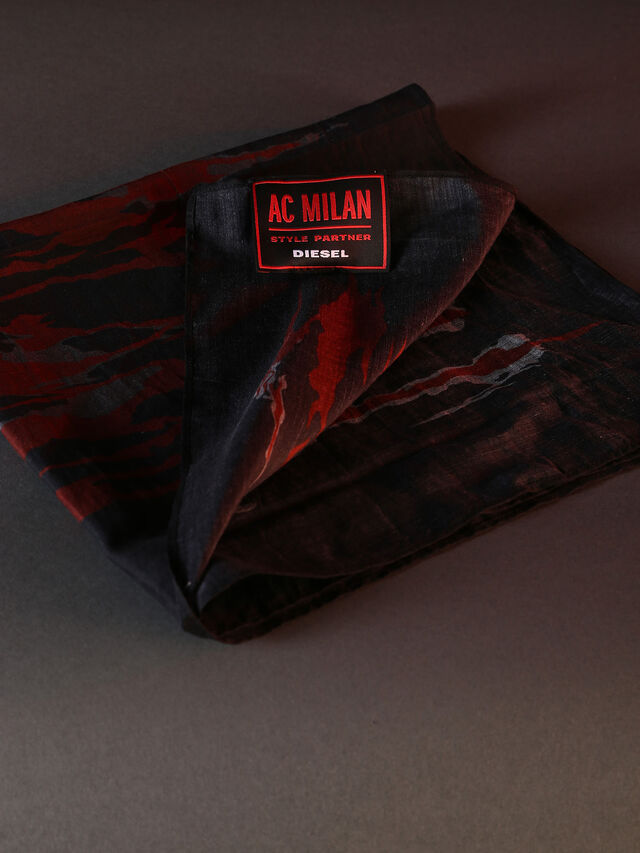 DVL-BANDANA-SPECIAL COLLECTION, Rot/Schwarz